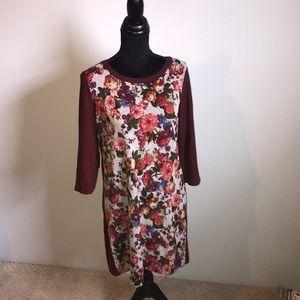 Gilli Floral sweater Dress